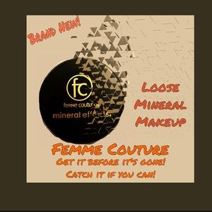 BRAND NEW! Femme Couture Loose Mineral Makeup